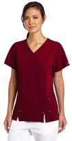 Dickies Scrubs Women's Xtreme Stretch V-Neck Shirt (SIZE 2X-3X)