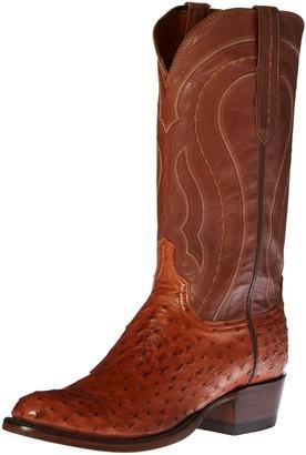 Lucchese Classics Men's Montana Burn F.q. Ost Ranch Riding Boot