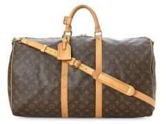 Louis Vuitton Vintage Monogram Keepall 55 Bandouliere Canvas Travel Bag