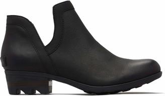 Sorel Women's Lolla Cut Out Bootie Ankle Boots Beige (Oatmeal Flax 241) 6 (39 EU)