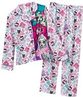 Monster high 2-pc. lagoona blue pajama set - girls