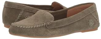 Jack Rogers Millie Suede Moc (Midnight) Women's Shoes