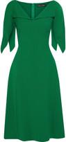 Thumbnail for your product : Oscar de la Renta Flared Wool-blend Crepe Dress