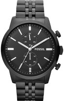 Fossil Fs4787 Townsman Stainless Steel Chronograph Watch