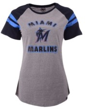 '47 Miami Marlins Women's Fly Out Raglan T-shirt