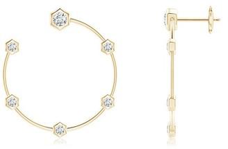 Natori Indochine Small Diamond Hoops