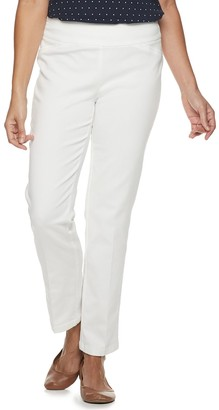 Croft & Barrow Women's Effortless Stretch Pull-On Pants