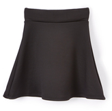Hybrid Black A-Line Skirt - Toddler & Girls