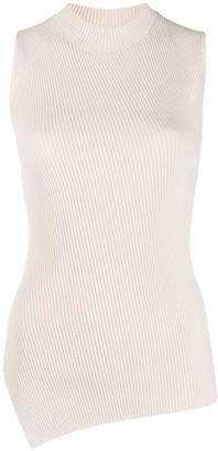 Theory Knitted Asymmetric Hem Vest