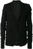 Rick Owens - extra long sleeved jacket