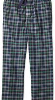 Charles Tyrwhitt Navy check cotton pyjama pants
