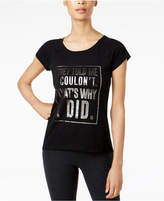 Ideology Metallic Graphic T-Shirt, Created for Macy's
