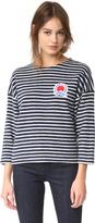 MAISON KITSUNÉ Marin Cropped Sweatshirt