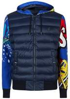 Ralph Lauren Down Graffiti Print Jacket