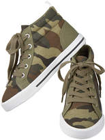 Crazy 8 Olive Camo High-Top Sneaker - Toddler & Boys