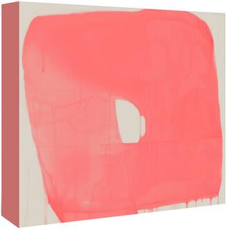 American Flat Americanflat Coral Abstract By Kasi Minami Canvas Artwork