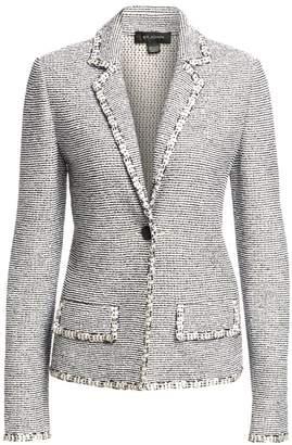 St. John Crepe Tweed Jacket