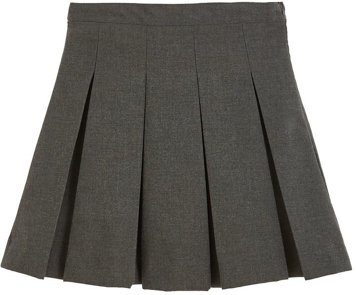 66e9caf136 Grey School Cardigan - ShopStyle UK