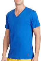Polo Ralph Lauren Cotton-Modal V-Neck Sleep Shirt