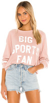 Wildfox Couture Big Sports Fan Sommers Sweatshirt