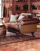 Duncan Phyfe-Style Sofa & Love Seat