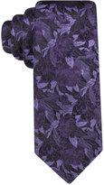 Alfani Men's Rose Floral Slim Tie, Only at Macy's