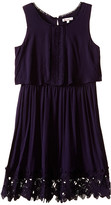 Ella Moss Kali Dress w/ Crochet Trim (Big Kids)