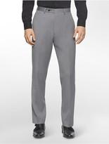 Calvin Klein Body Slim Fit Melange Wool Suit Pants