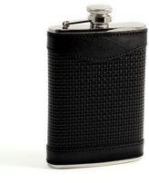 Bey-Berk Woven Leather Flask