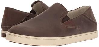 OluKai Kahu 'Ili (Charcoal/Bone) Men's Slip on Shoes