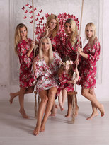 Etsy SALE! Free Robe Set of 10+, Bridesmaid Robes, Cotton Floral Robe, Getting Ready Robes, Wedding Robe,