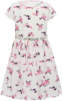 M&Co Parrot print belted dress