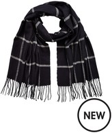 Very Mens Checked Midweight Scarf