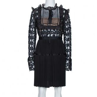 Self-Portrait Black Cotton Dresses