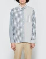 Beams Indigo Crazy Long Sleeve Shirt