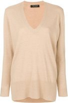Twin-Set v-neck loose fit jumper