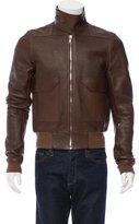 Rick Owens Mastodon Leather Jacket