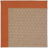 Zeppelin Tufted Orange/ Brown Indoor / Outdoor Use Area Rug Longshore Tides Rug Size: Round 12' x 12'