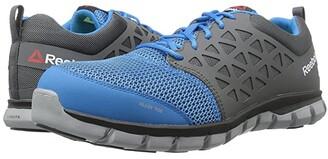 Reebok Work Sublite Cushion Work SD (Blue/Grey) Men's Work Boots