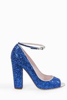 Giamba Glitter Mary Jane Heels