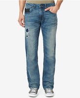 Buffalo David Bitton Men's Fred-X Relaxed-Fit Ripped Stretch Jeans