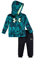 Under Armour Baby Boys Two-Piece Printed Hoodie and Jogger Pants Set
