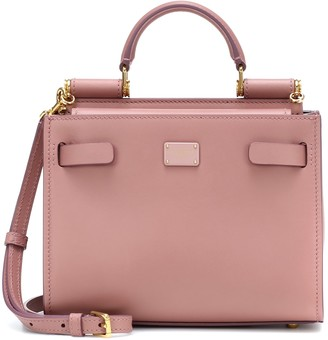 Dolce & Gabbana Sicily 62 Mini leather tote