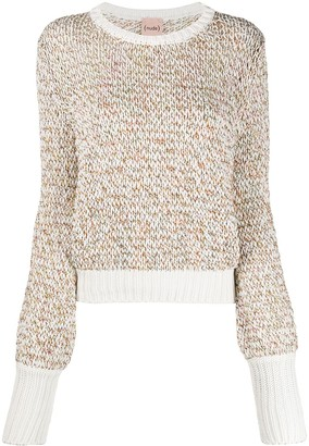 Nude Loop Knit Jumper