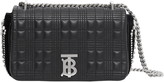 Burberry Small Lola TB Crystal Embellished Quilted Check Leather Bag