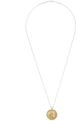 VICTORIA STRIGINI Alexander the Great oblong-chain necklace
