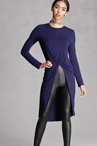Forever 21 Knotted Front Tunic