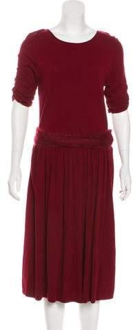 Giambattista Valli Knit Midi Dress w/ Tags