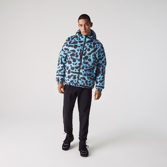 Lacoste Mens x National Geographic Reversible Quilted Zip Jacket