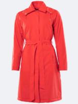 Rains Trench Coat In Red - XXS/XS
